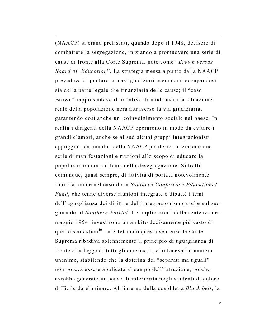 Anteprima della tesi: La stampa periodica comunista italiana e il movimento afroamericano negli Stati Uniti, 1954-68., Pagina 5