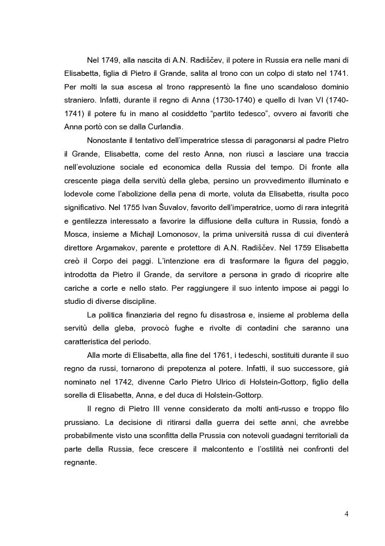 Anteprima della tesi: Vita di Fëdor Vasilevič Ušakov e alcuni suoi scritti di A. N. Radiščev, Pagina 2