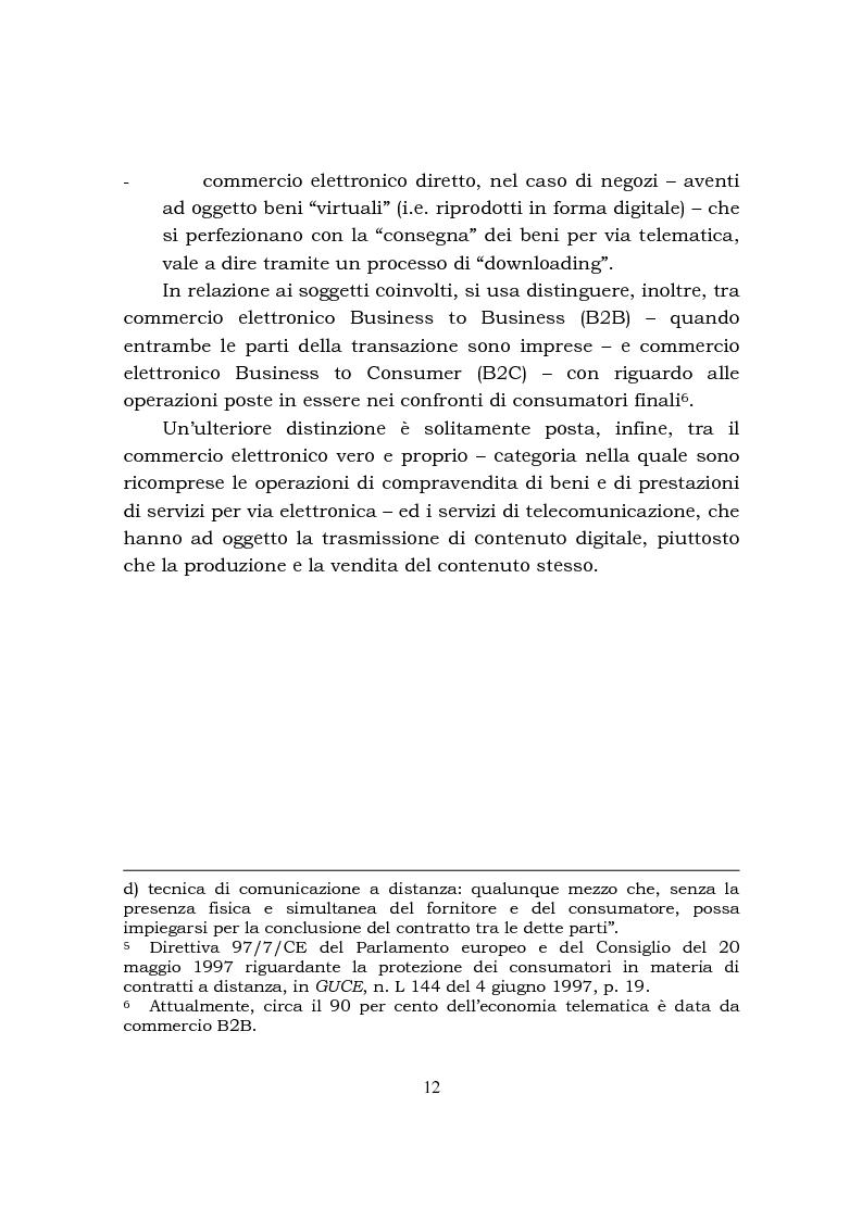 Anteprima della tesi: Disciplina fiscale e commercio elettronico, Pagina 6