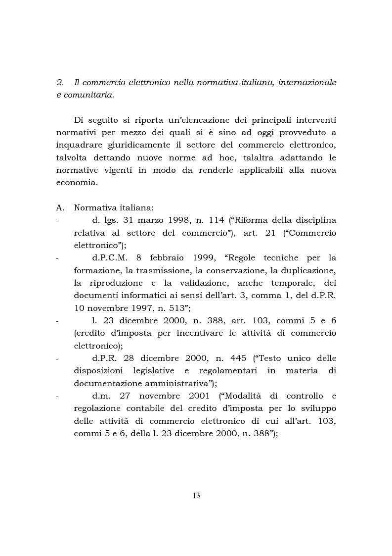 Anteprima della tesi: Disciplina fiscale e commercio elettronico, Pagina 7