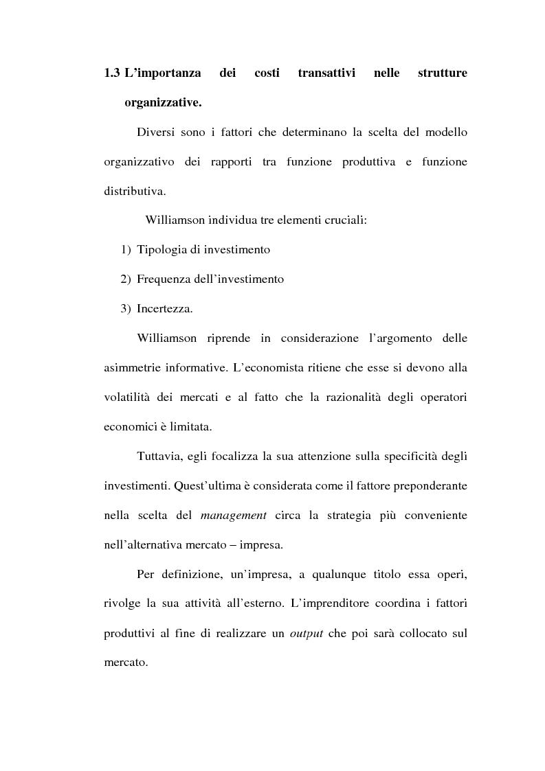 Anteprima della tesi: Problemi relativi alla fissazione del prezzo di rivendita nelle intese verticali, Pagina 12