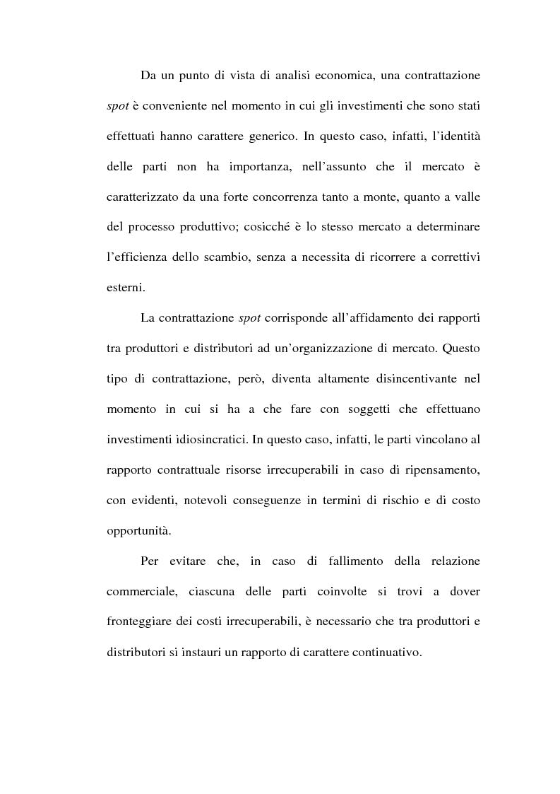 Anteprima della tesi: Problemi relativi alla fissazione del prezzo di rivendita nelle intese verticali, Pagina 14