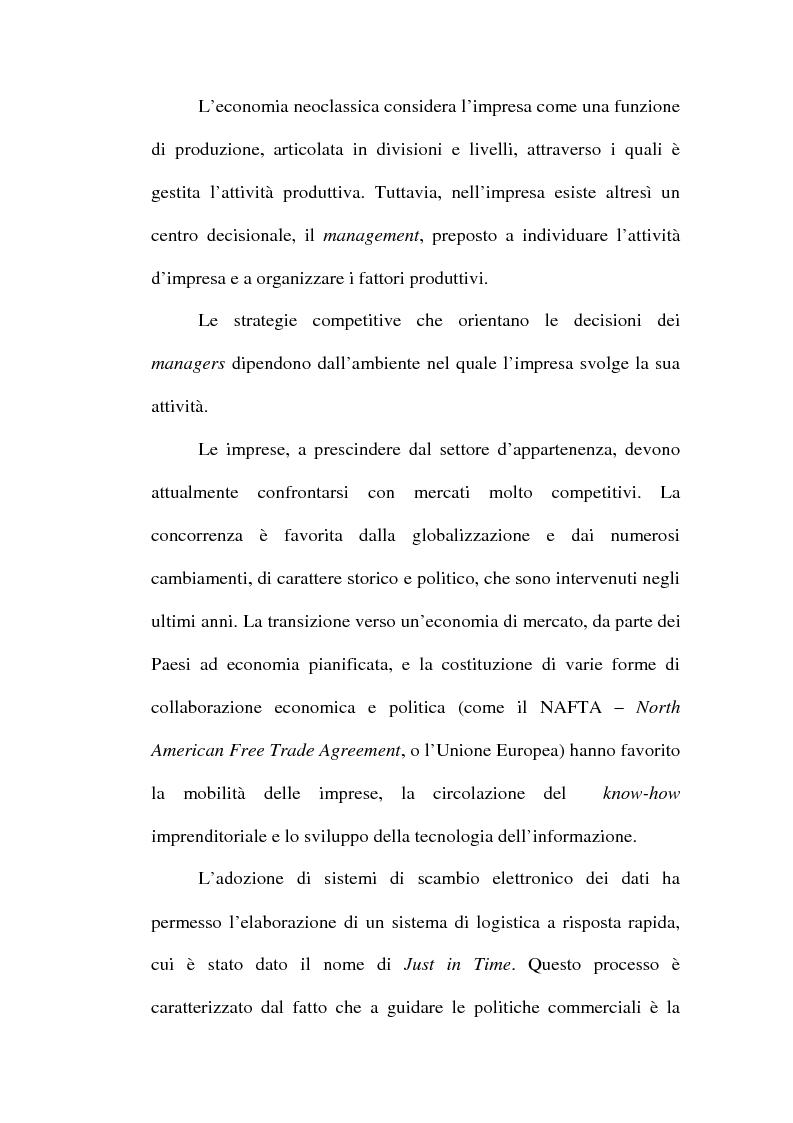 Anteprima della tesi: Problemi relativi alla fissazione del prezzo di rivendita nelle intese verticali, Pagina 3