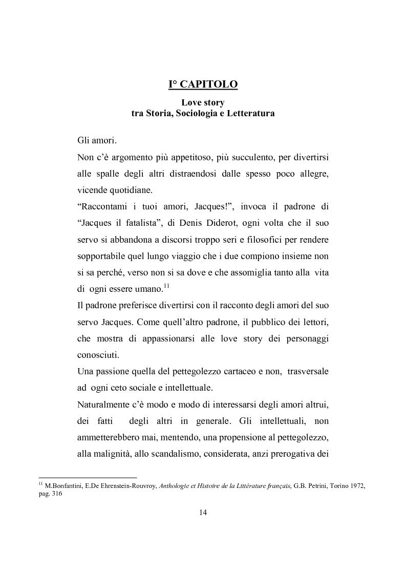 Anteprima della tesi: Love story. Appunti di una storia del gossip in Italia, Pagina 10