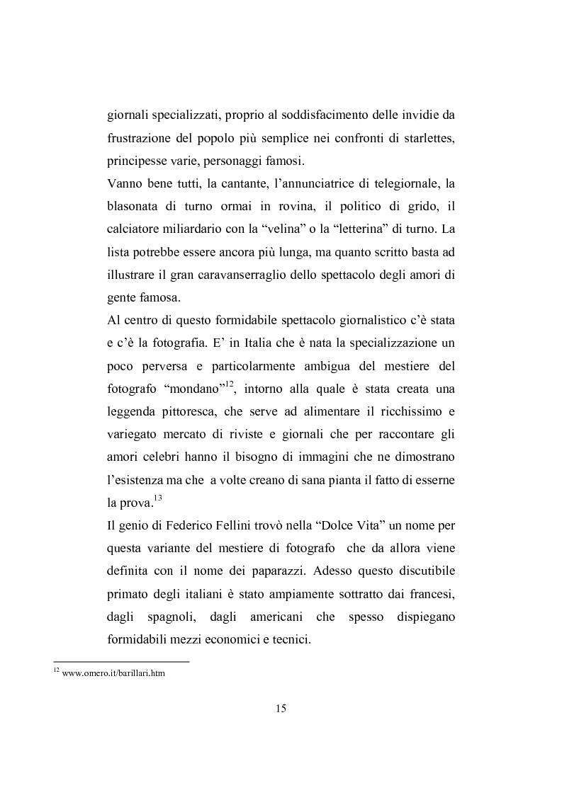Anteprima della tesi: Love story. Appunti di una storia del gossip in Italia, Pagina 11