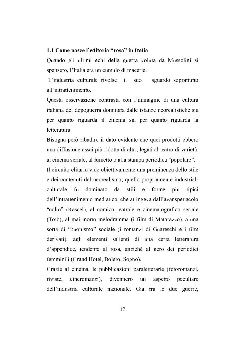 Anteprima della tesi: Love story. Appunti di una storia del gossip in Italia, Pagina 13