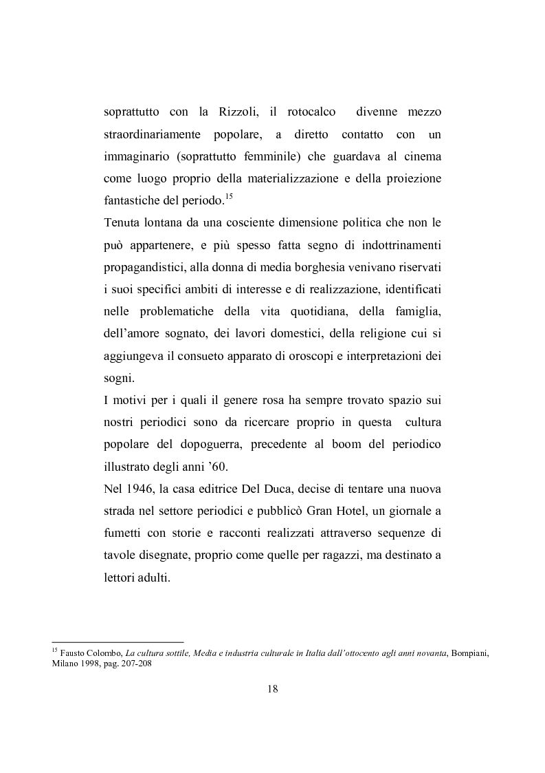 Anteprima della tesi: Love story. Appunti di una storia del gossip in Italia, Pagina 14