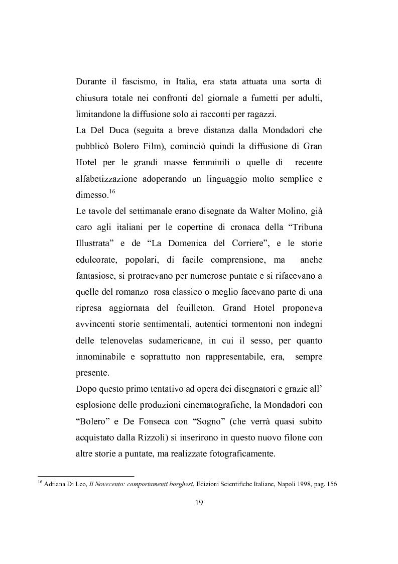 Anteprima della tesi: Love story. Appunti di una storia del gossip in Italia, Pagina 15