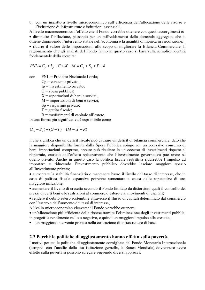 Anteprima della tesi: Gli effetti delle politiche di aggiustamento strutturale del Fmi sulla povertà. Il caso del Messico, Pagina 15