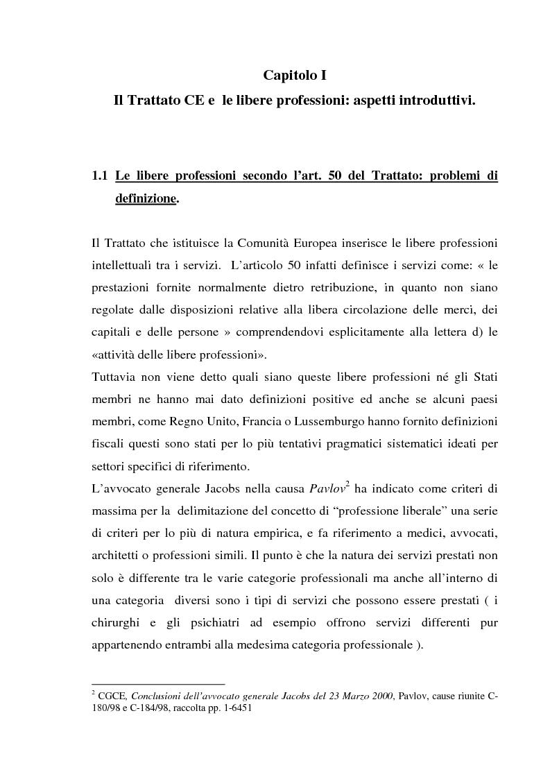 Anteprima della tesi: L'esercizio della professione forense da parte di avvocati di common law in Italia, Pagina 6