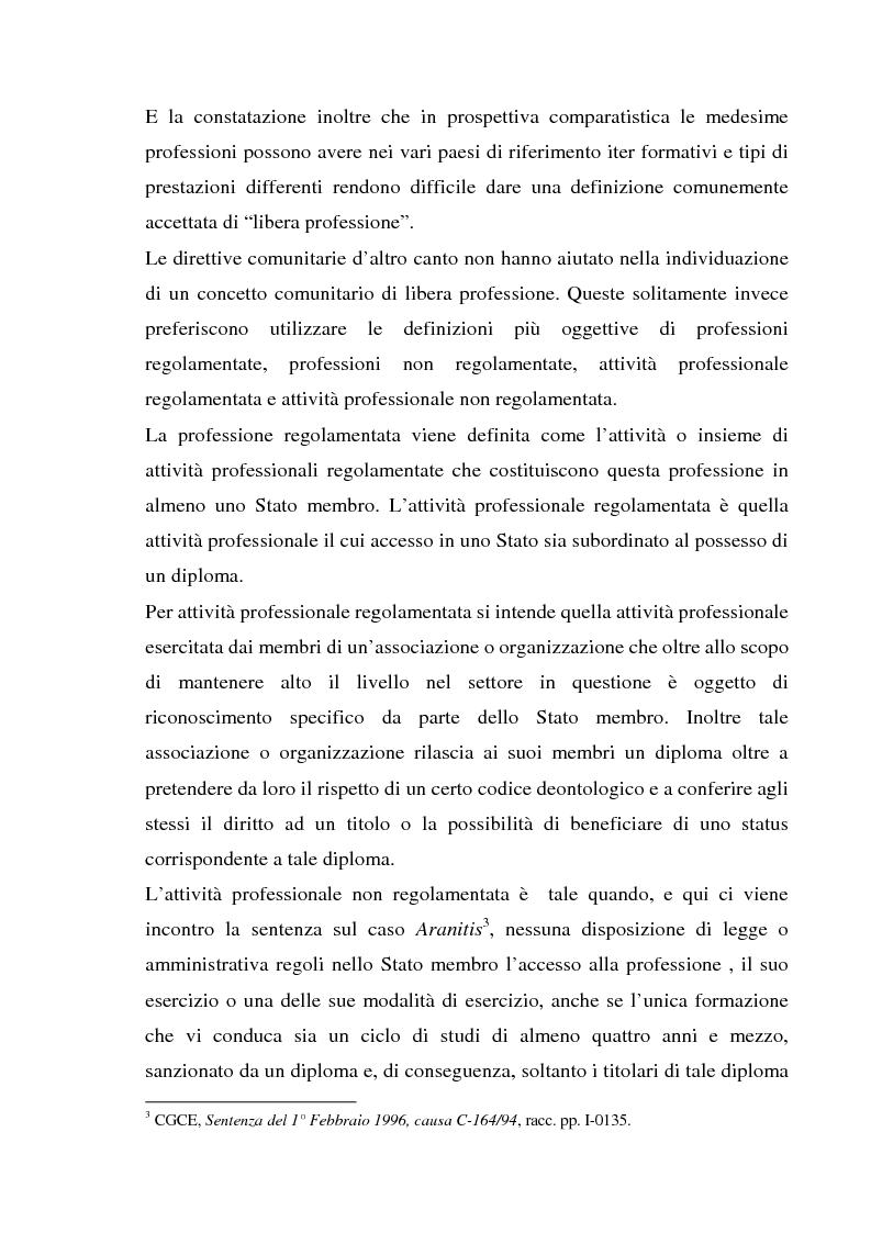 Anteprima della tesi: L'esercizio della professione forense da parte di avvocati di common law in Italia, Pagina 7