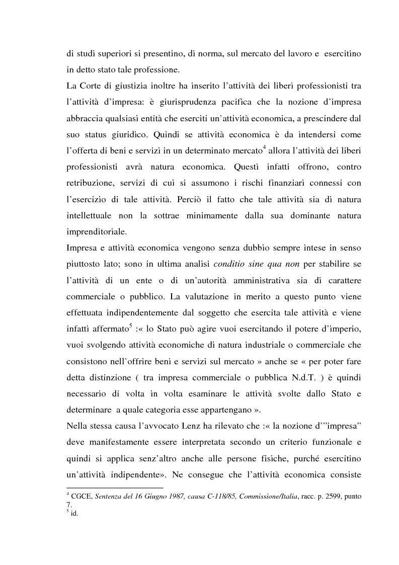 Anteprima della tesi: L'esercizio della professione forense da parte di avvocati di common law in Italia, Pagina 8