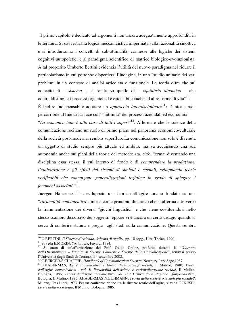 Anteprima della tesi: La comunicazione come leva del successo aziendale, Pagina 3