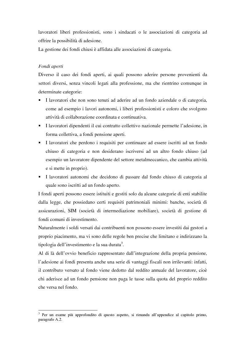Anteprima della tesi: Gestione di un portafoglio complesso di un fondo pensione in tempo continuo. Aspetti teorici e uno schema applicativo, Pagina 6