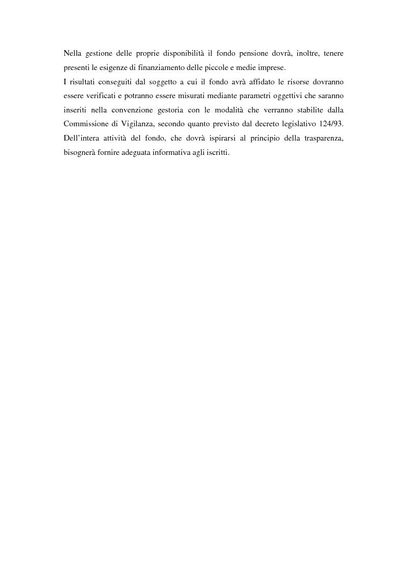 Anteprima della tesi: Gestione di un portafoglio complesso di un fondo pensione in tempo continuo. Aspetti teorici e uno schema applicativo, Pagina 8