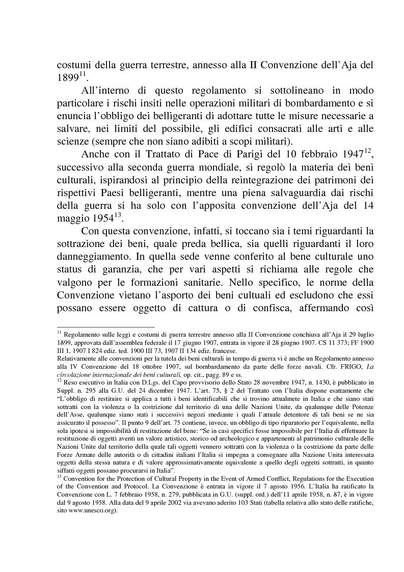 Anteprima della tesi: La circolazione dei beni culturali nella Comunità europea, Pagina 9