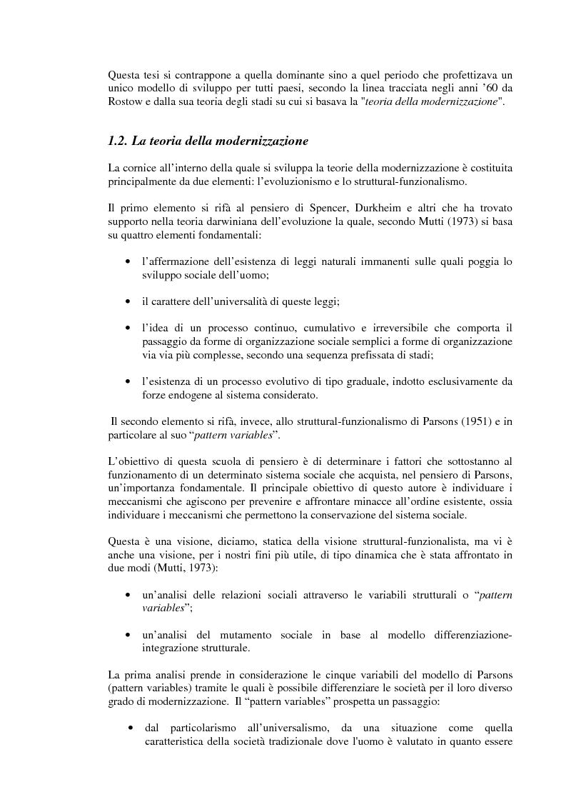 Anteprima della tesi: Rapporto tra sviluppo politico e sviluppo economico: il caso argentino, Pagina 3