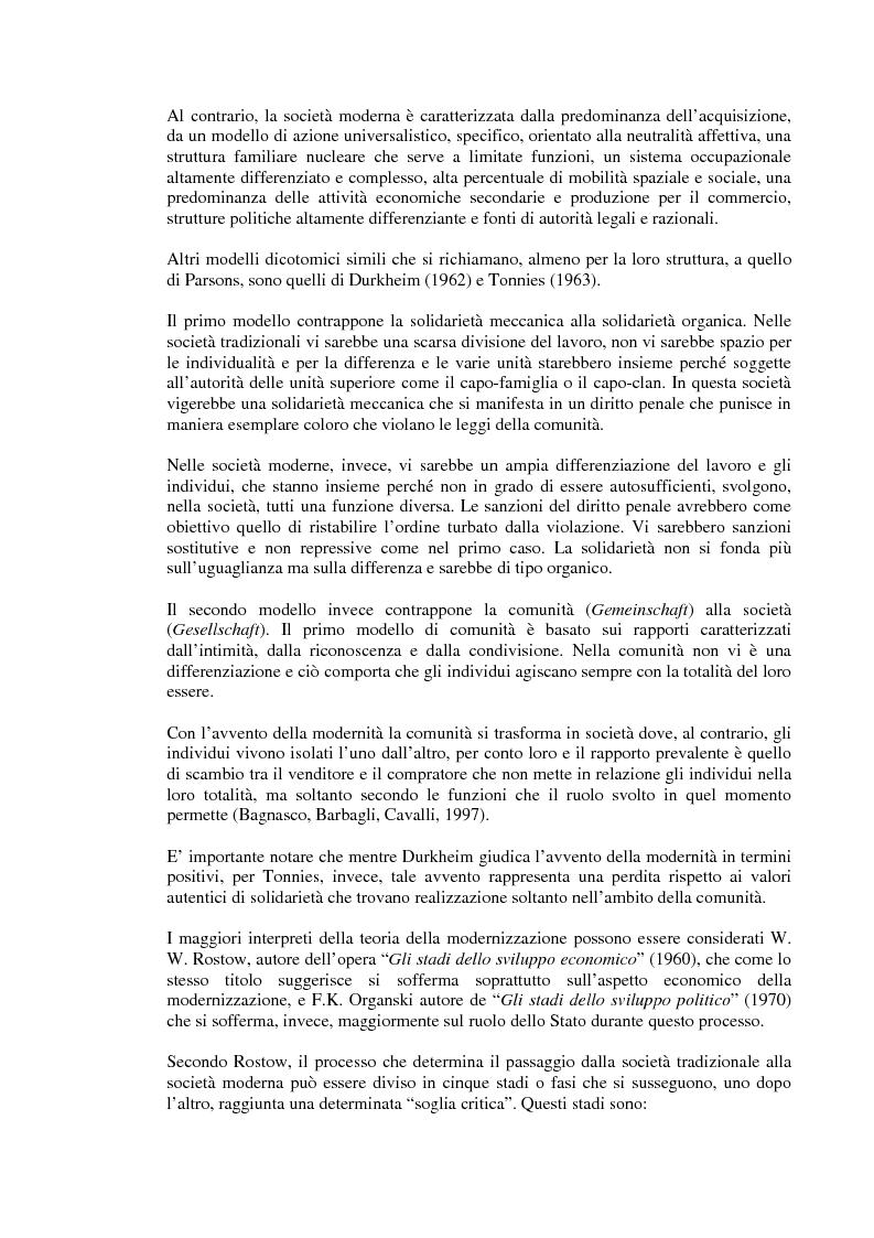 Anteprima della tesi: Rapporto tra sviluppo politico e sviluppo economico: il caso argentino, Pagina 5