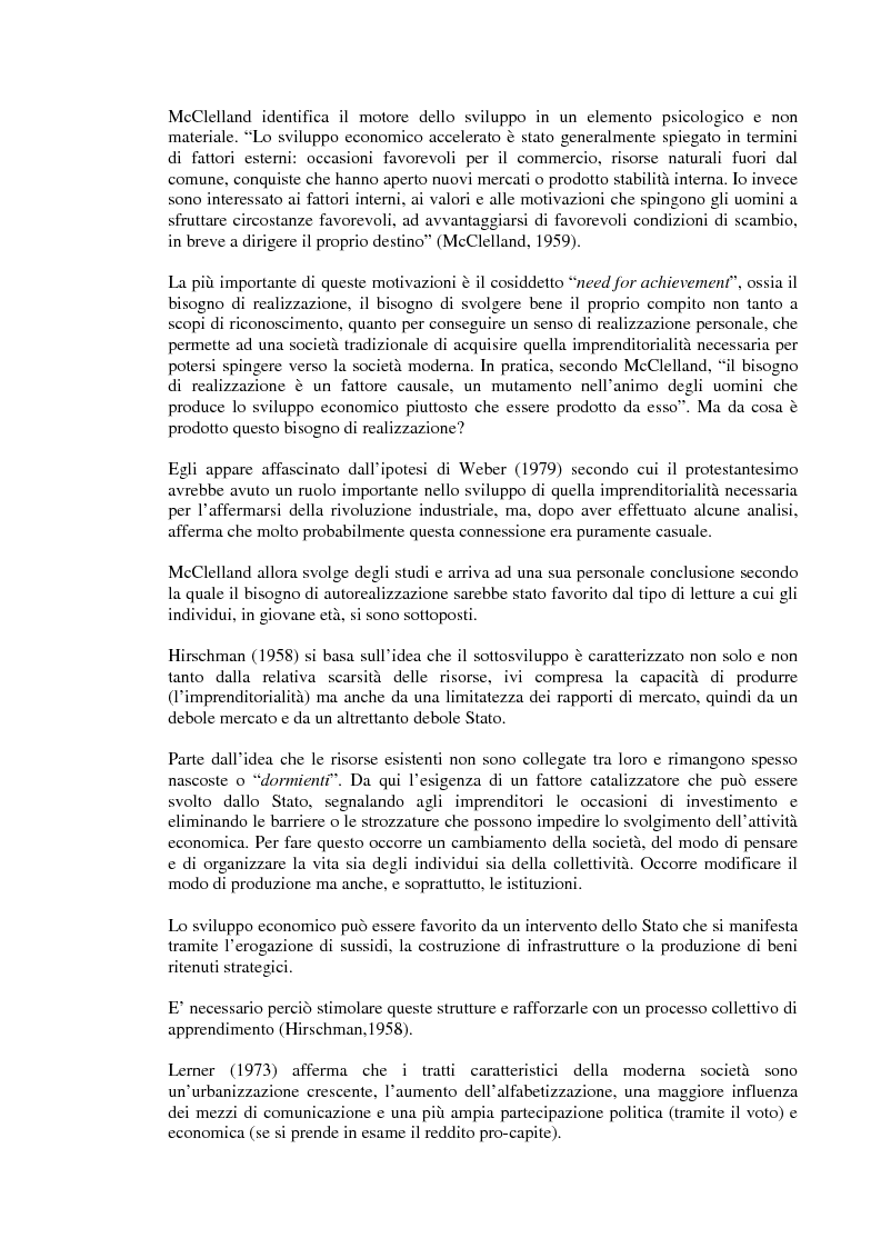 Anteprima della tesi: Rapporto tra sviluppo politico e sviluppo economico: il caso argentino, Pagina 9
