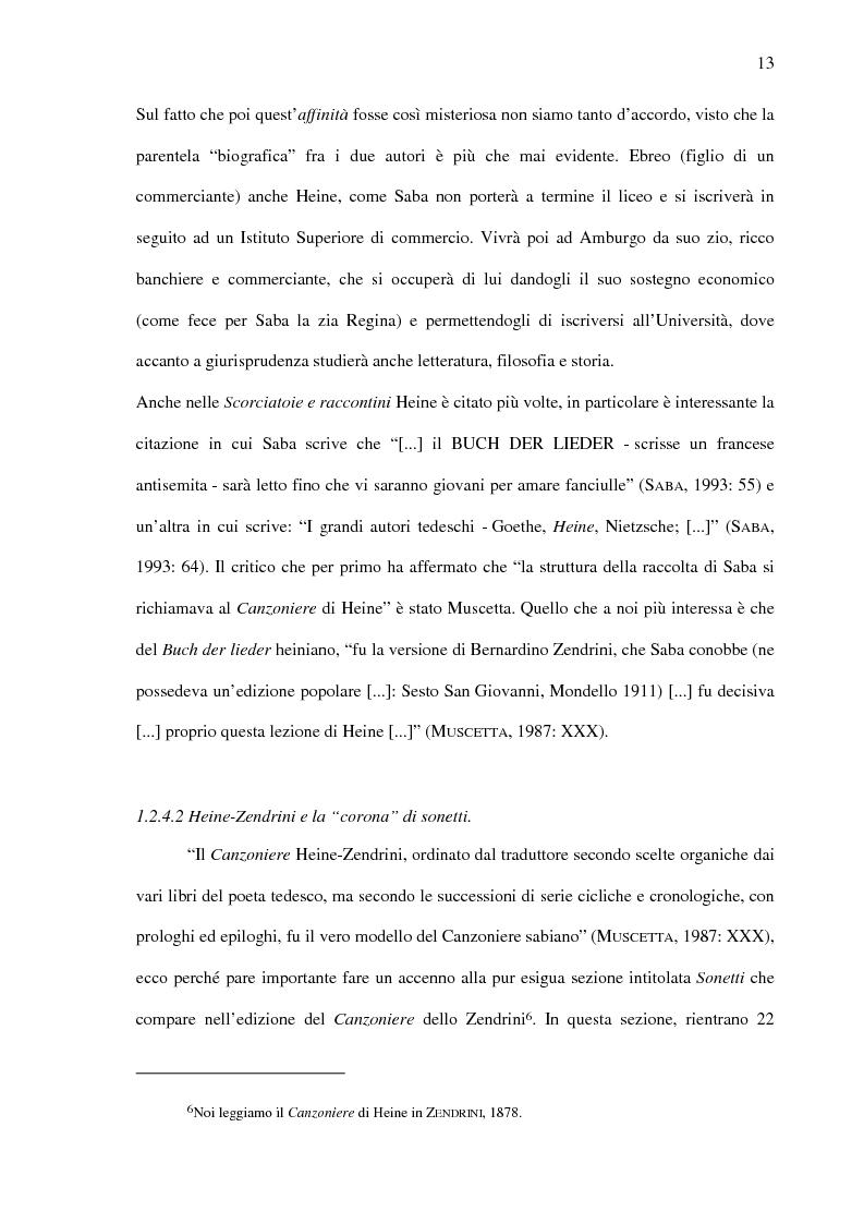 Anteprima della tesi: Saba prima del ''Canzoniere'': ''Poesie'' (1911), Pagina 15