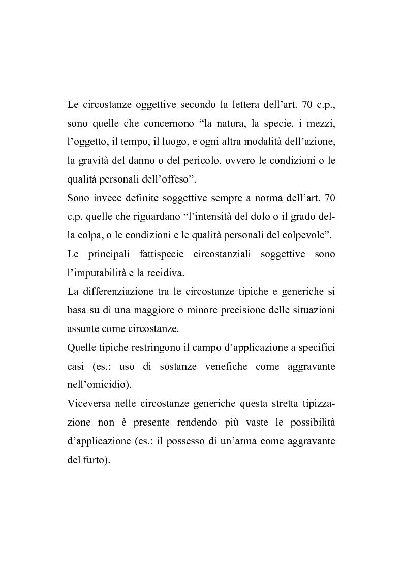 Anteprima della tesi: Il nuovo regime d'imputazione delle circostanze aggravanti, Pagina 9