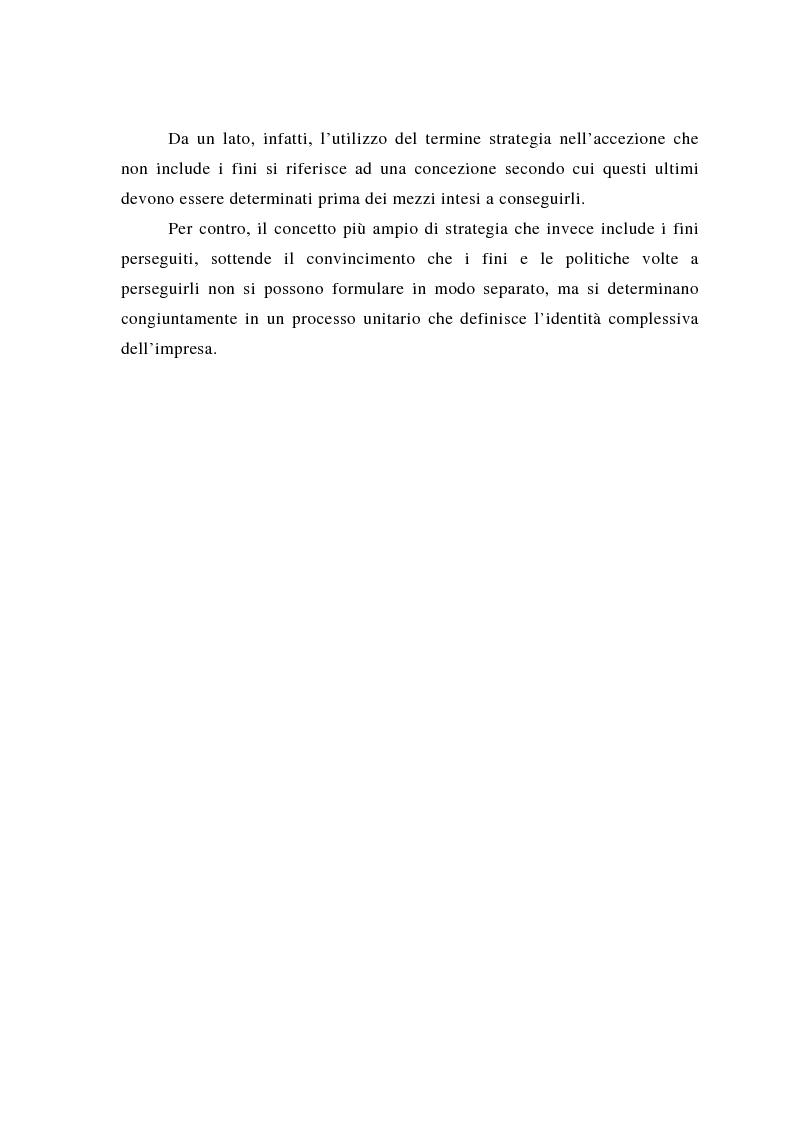 Anteprima della tesi: Il posizionamento strategico come fonte del vantaggio competitivo, Pagina 10