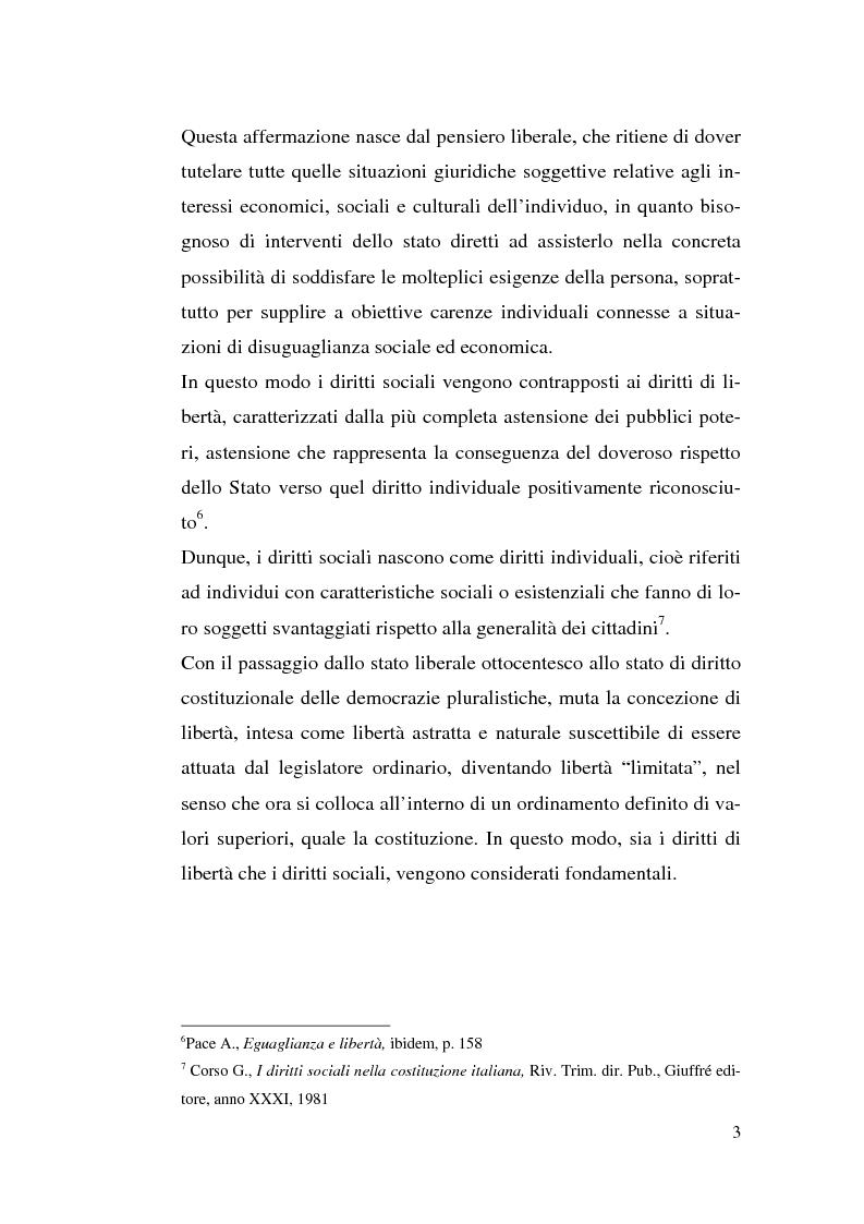 Anteprima della tesi: I diritti sociali e l'Unione europea, Pagina 3