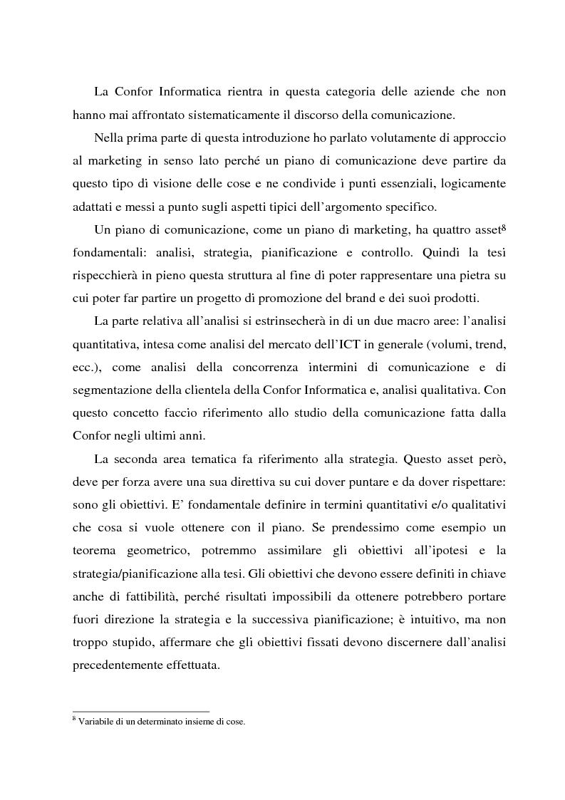 Anteprima della tesi: Comunicare l'information technology, Pagina 7