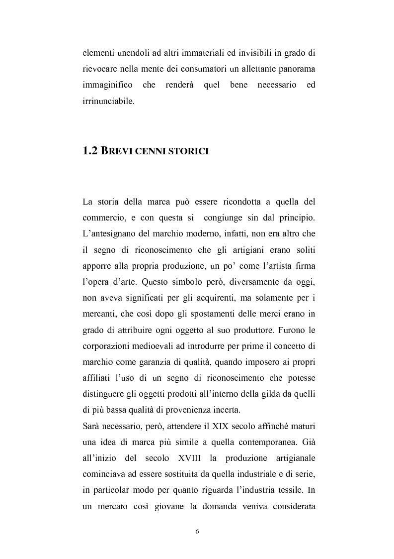 Anteprima della tesi: Fedeli alla marca, Pagina 2