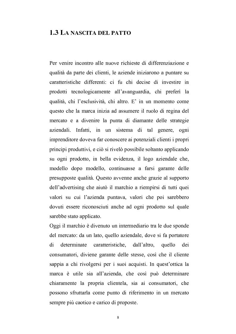 Anteprima della tesi: Fedeli alla marca, Pagina 4