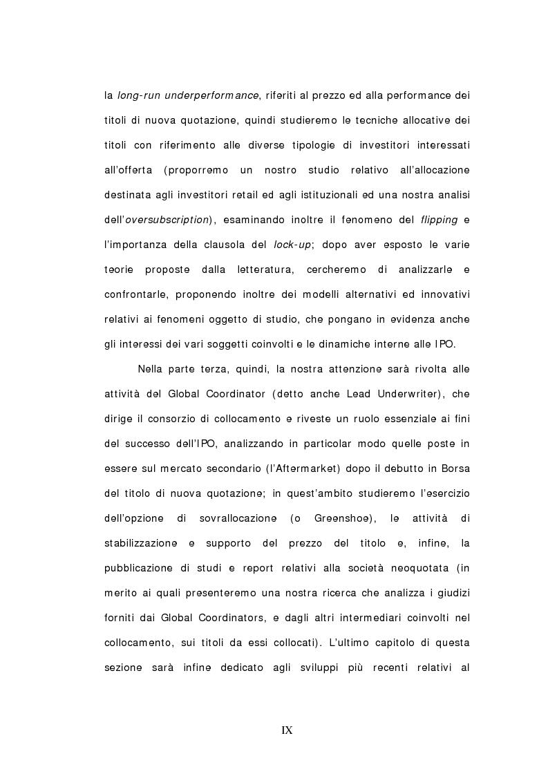 Anteprima della tesi: Ipo: un'analisi delle dinamiche interne e del ruolo dei soggetti coinvolti, Pagina 2