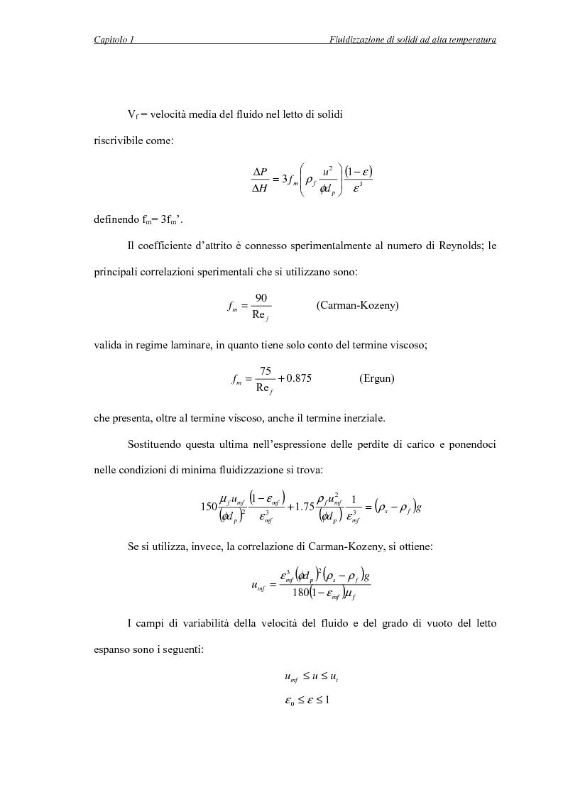 Anteprima della tesi: L'influenza della temperatura sulle proprietà delle fasi di letti fluidizzati di solidi diversi, Pagina 12