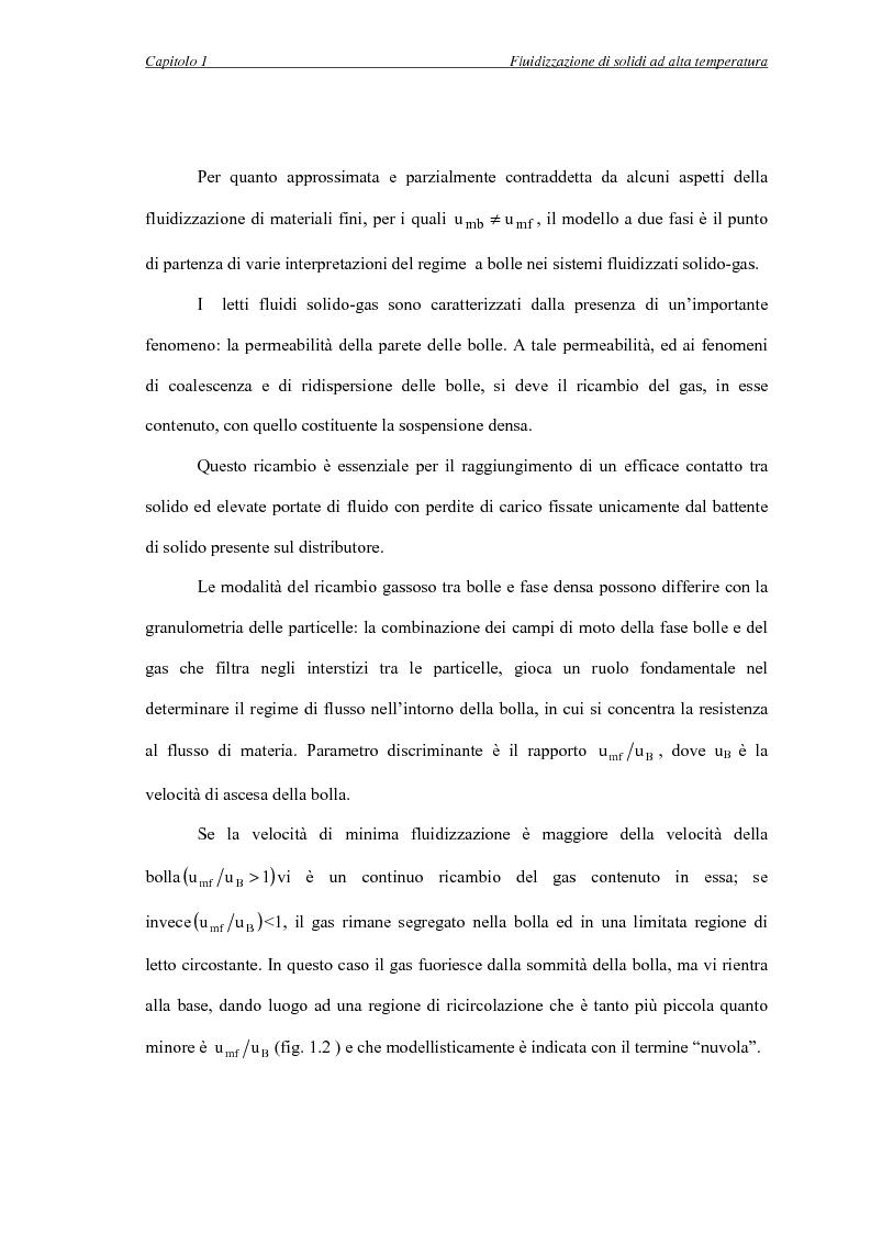 Anteprima della tesi: L'influenza della temperatura sulle proprietà delle fasi di letti fluidizzati di solidi diversi, Pagina 9