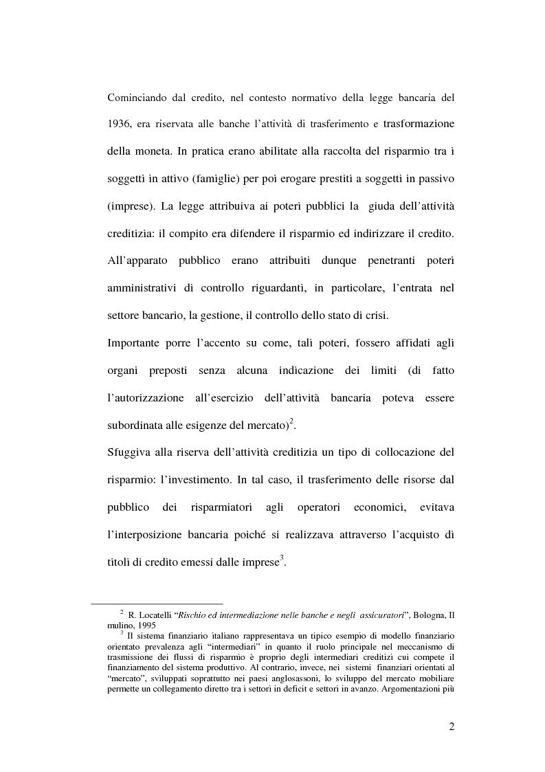 Anteprima della tesi: La bancassicurazione, Pagina 4