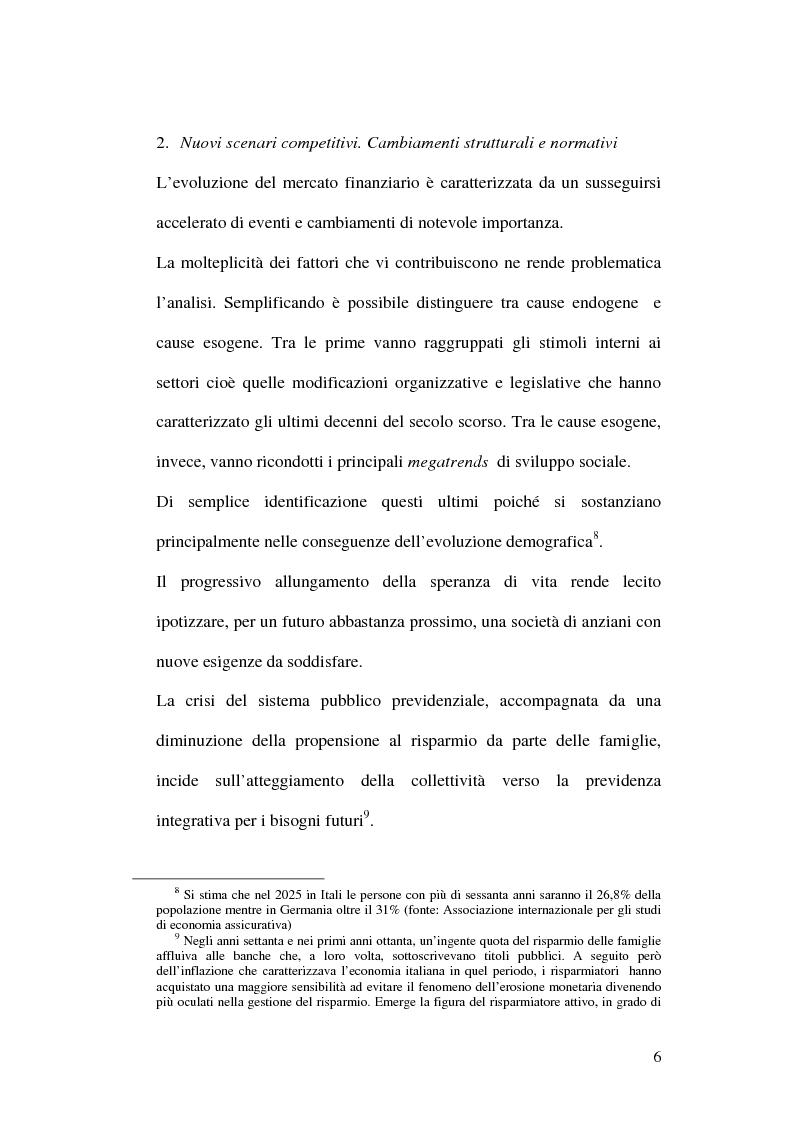 Anteprima della tesi: La bancassicurazione, Pagina 8