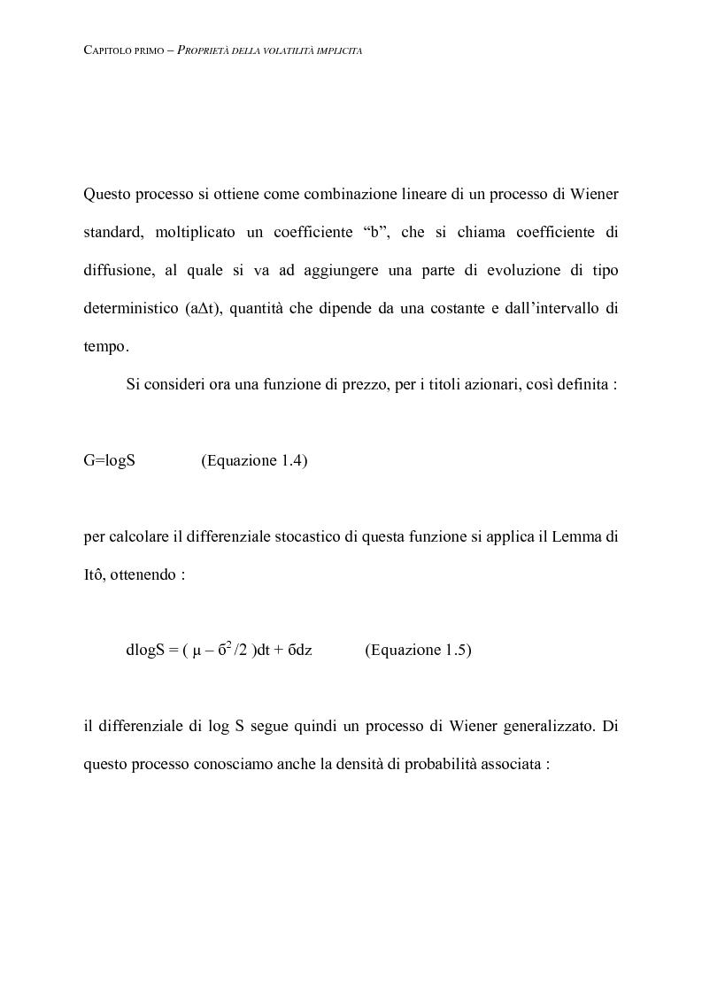 Anteprima della tesi: Modelli di pricing basati sulla volatilità implicita, Pagina 7