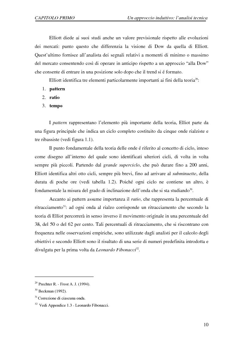 Anteprima della tesi: Attività di previsione dei corsi azionari, Pagina 10