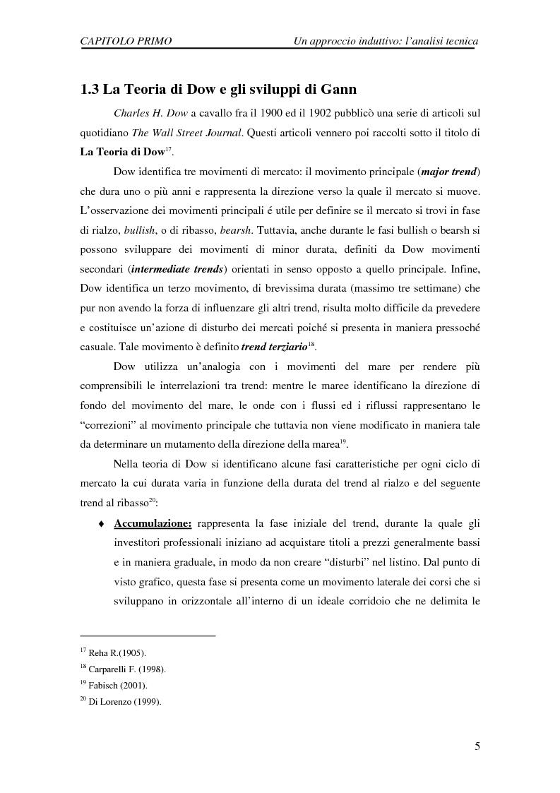 Anteprima della tesi: Attività di previsione dei corsi azionari, Pagina 5