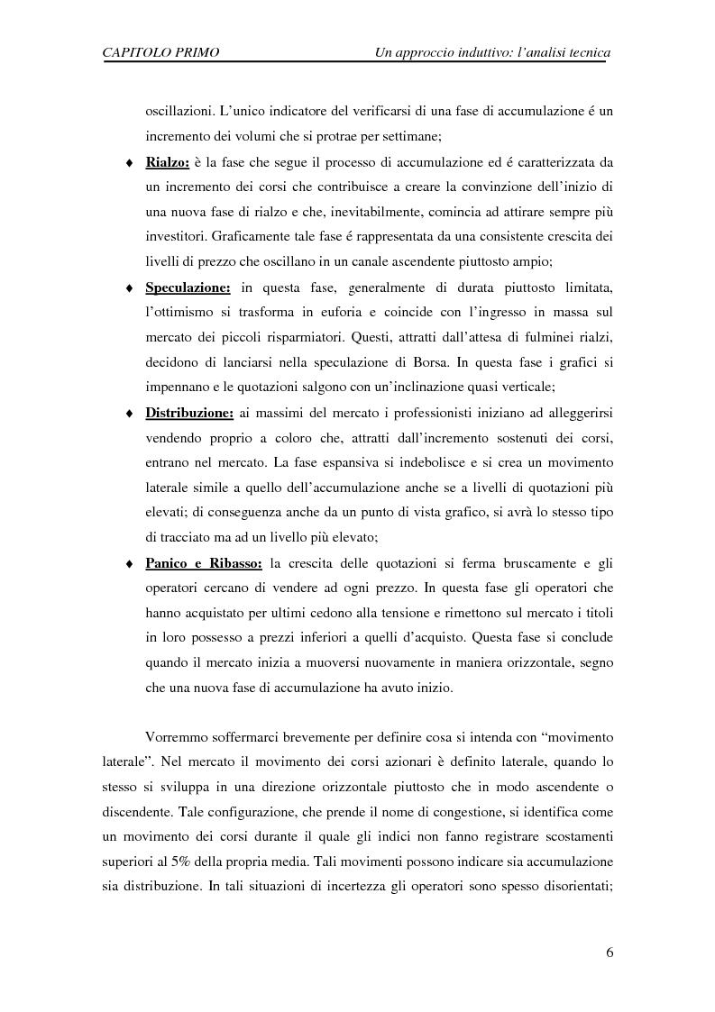 Anteprima della tesi: Attività di previsione dei corsi azionari, Pagina 6
