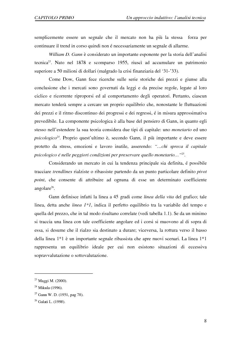 Anteprima della tesi: Attività di previsione dei corsi azionari, Pagina 8