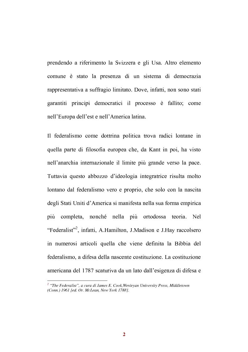 Anteprima della tesi: Sistemi di federalismo fiscale comparato: il caso Italia-Spagna, Pagina 5