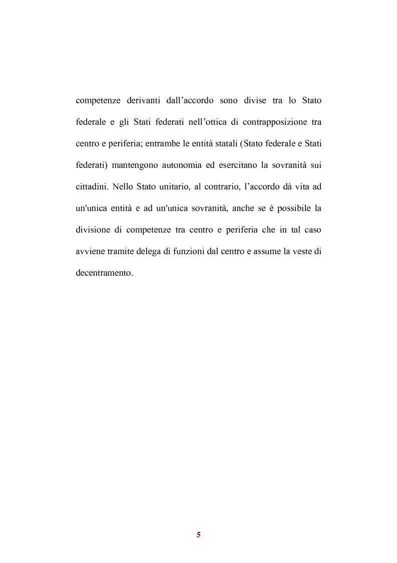 Anteprima della tesi: Sistemi di federalismo fiscale comparato: il caso Italia-Spagna, Pagina 8