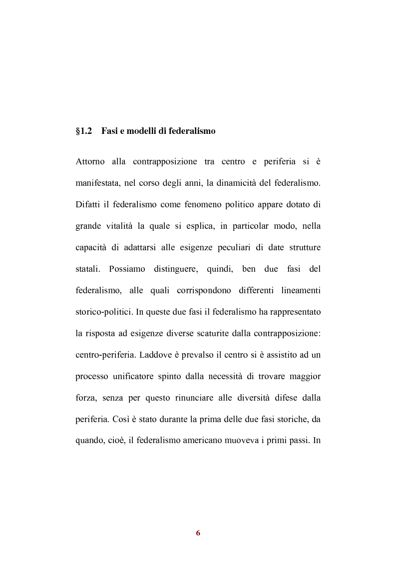 Anteprima della tesi: Sistemi di federalismo fiscale comparato: il caso Italia-Spagna, Pagina 9