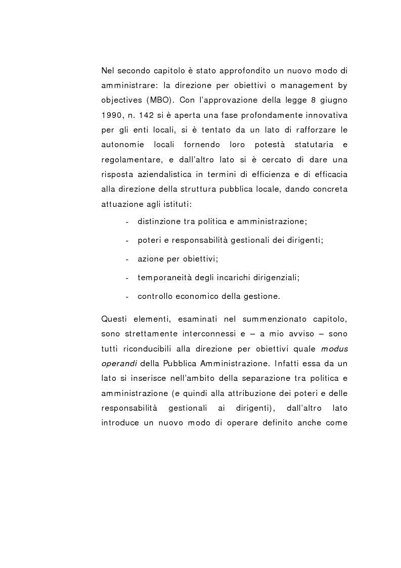 Anteprima della tesi: Il Peg nella contabilità comunale, Pagina 4
