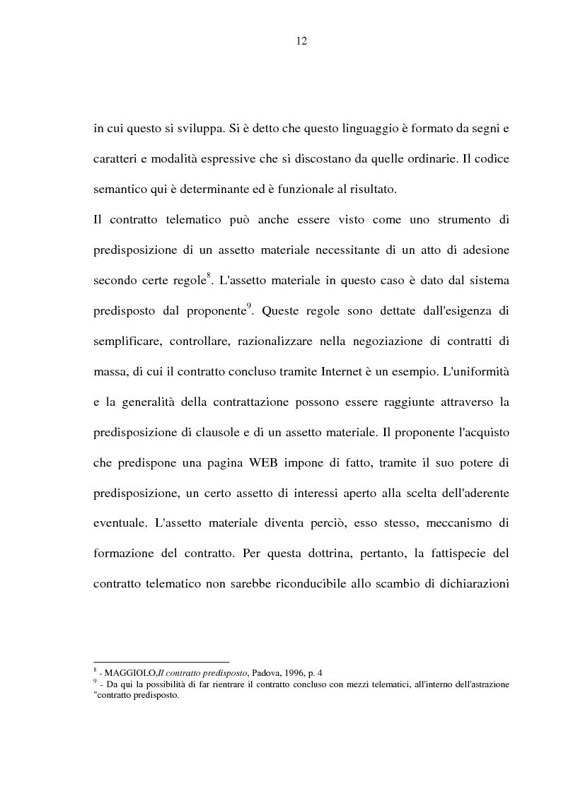 Anteprima della tesi: La vendita telematica, Pagina 8