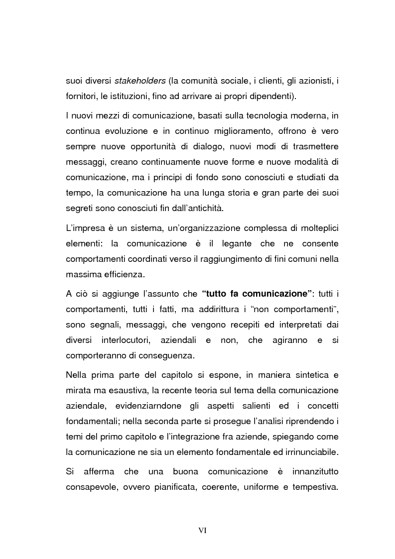 Anteprima della tesi: L'integrazione post-acquisizione nelle operazioni internazionali: il ruolo della comunicazione interna ed esterna, Pagina 6