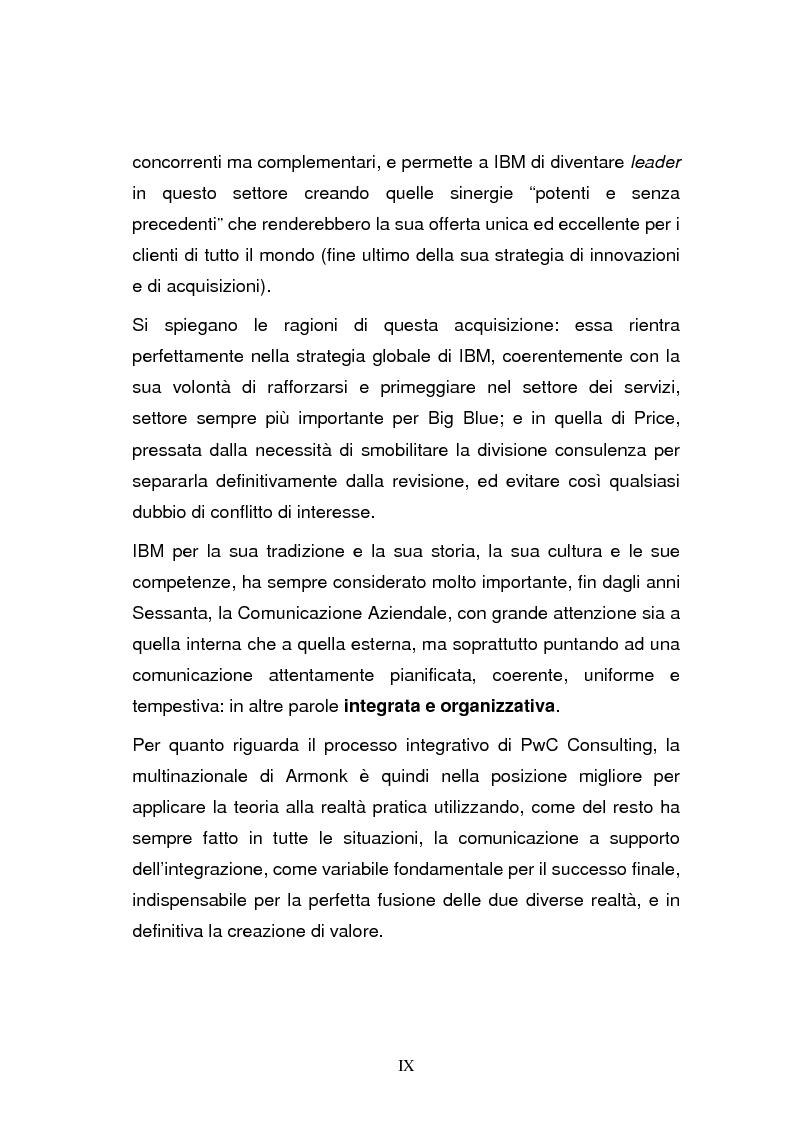 Anteprima della tesi: L'integrazione post-acquisizione nelle operazioni internazionali: il ruolo della comunicazione interna ed esterna, Pagina 9