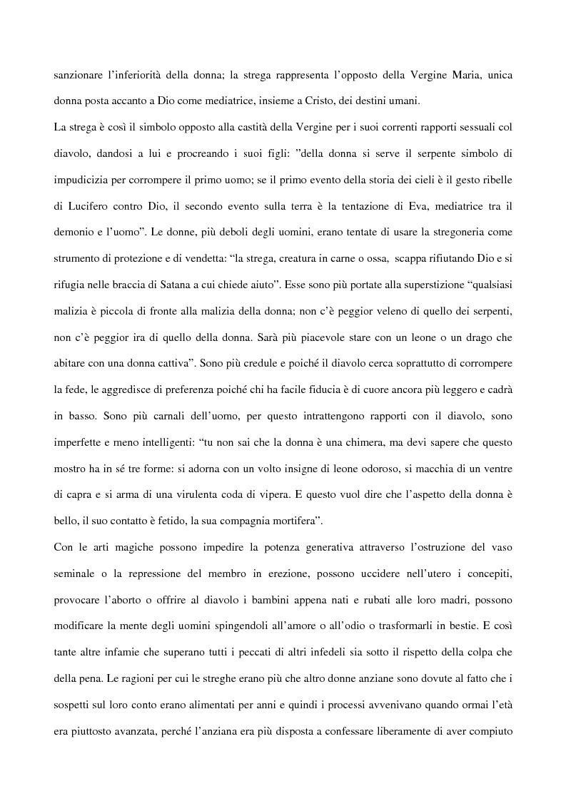 Anteprima della tesi: I processi alle streghe: la disputa settecentesca, Pagina 2