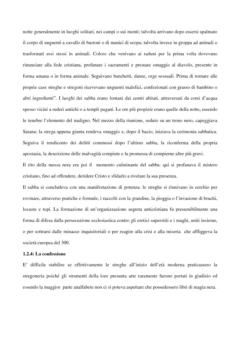 Anteprima della tesi: I processi alle streghe: la disputa settecentesca, Pagina 5