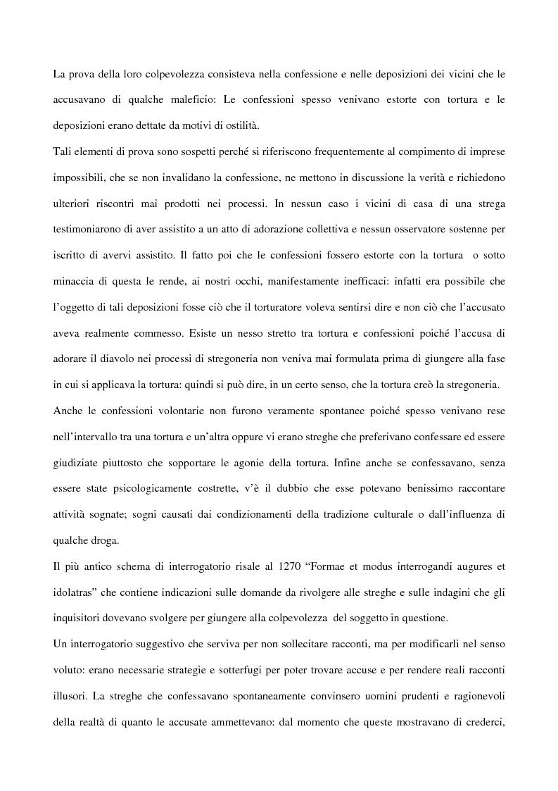 Anteprima della tesi: I processi alle streghe: la disputa settecentesca, Pagina 6
